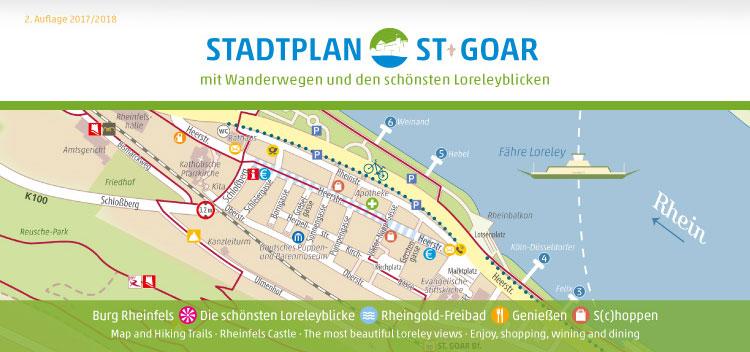 Stadtplan St. Goar