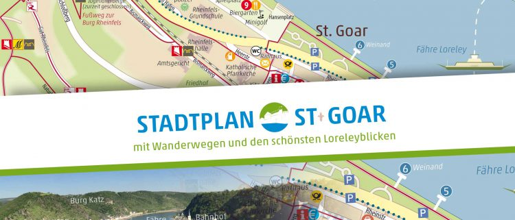 Stadtplan Sankt Goar 2019 erschienenen
