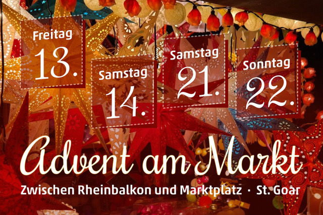 Advent am Markt St. Goar